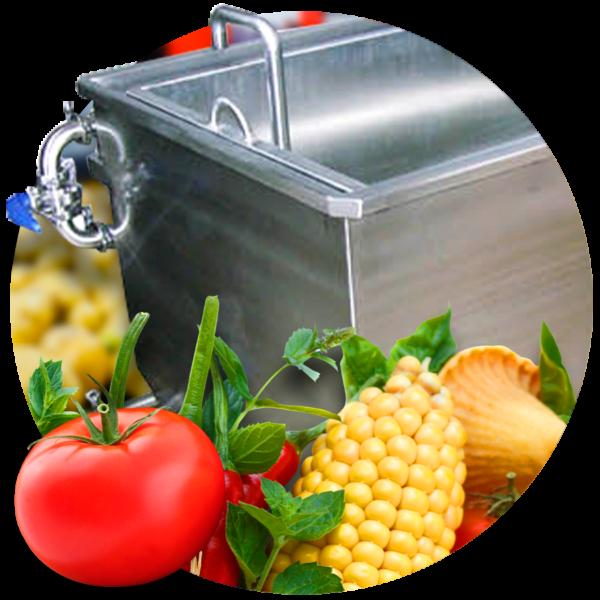 Lavadoras de Verduras